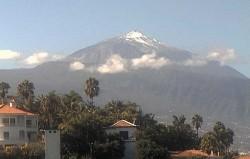 The coldest weatherin Tenerife!